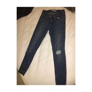 """Levis women jean """"711 skinny ancle jeans"""""""